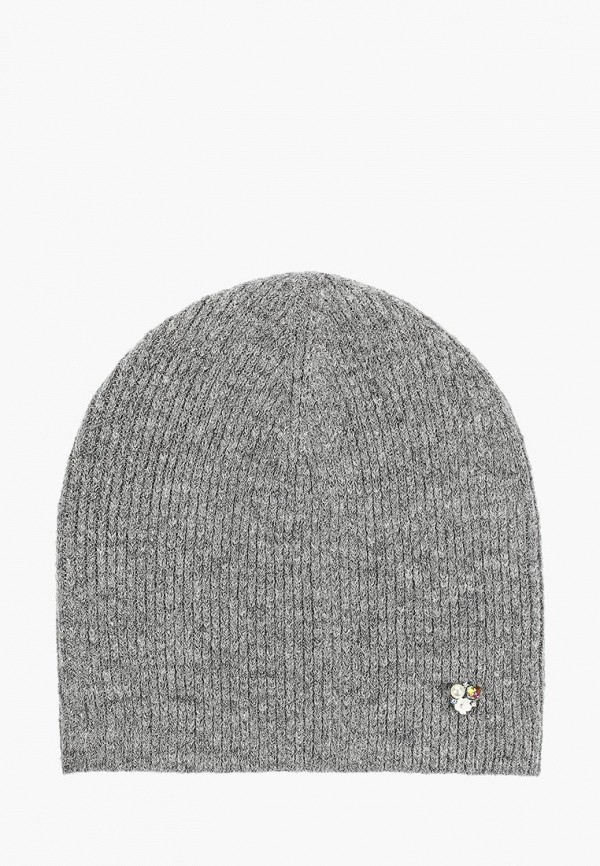 женская шапка maxval, серая