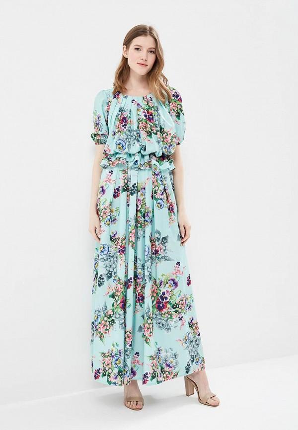 женское платье мадам т, голубое