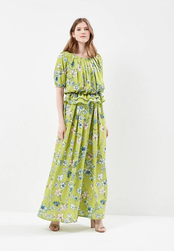 женское платье мадам т, зеленое