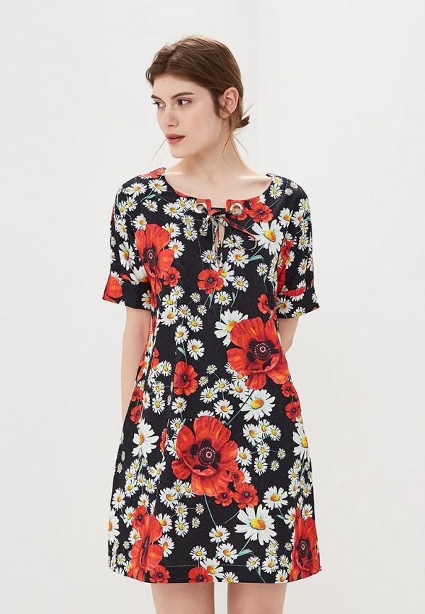 женское платье мадам т, черное