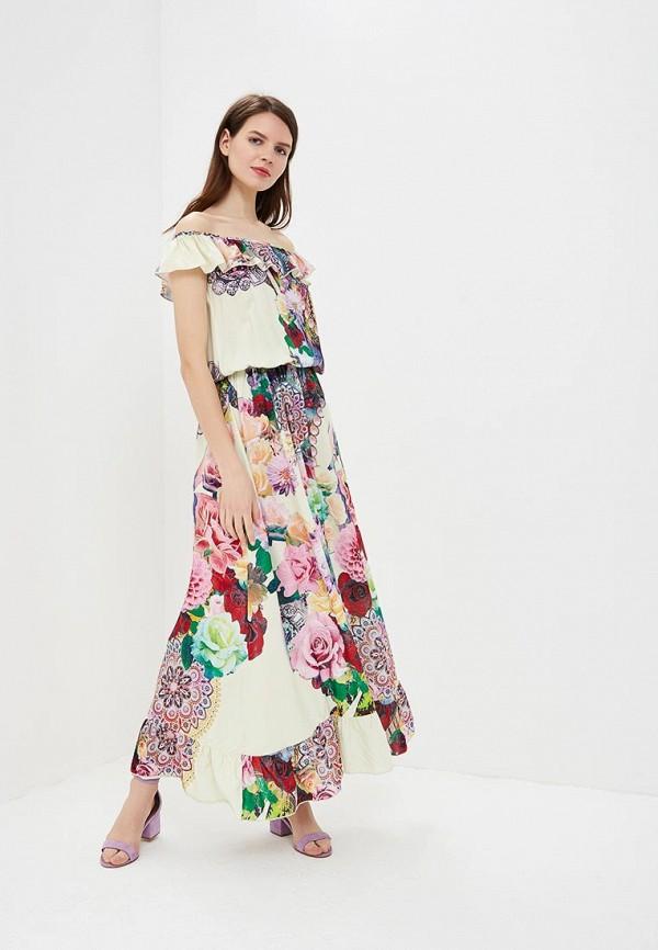 женское платье мадам т, бежевое