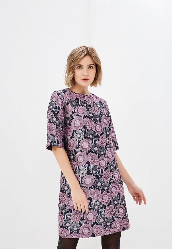 женское повседневные платье мадам т, розовое