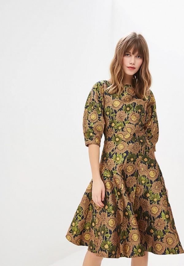 женское вечерние платье мадам т, разноцветное