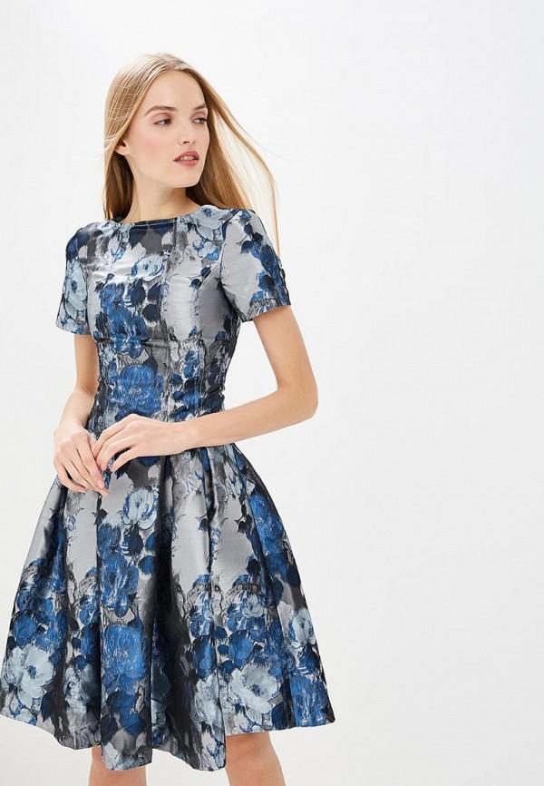 женское повседневные платье мадам т, серое