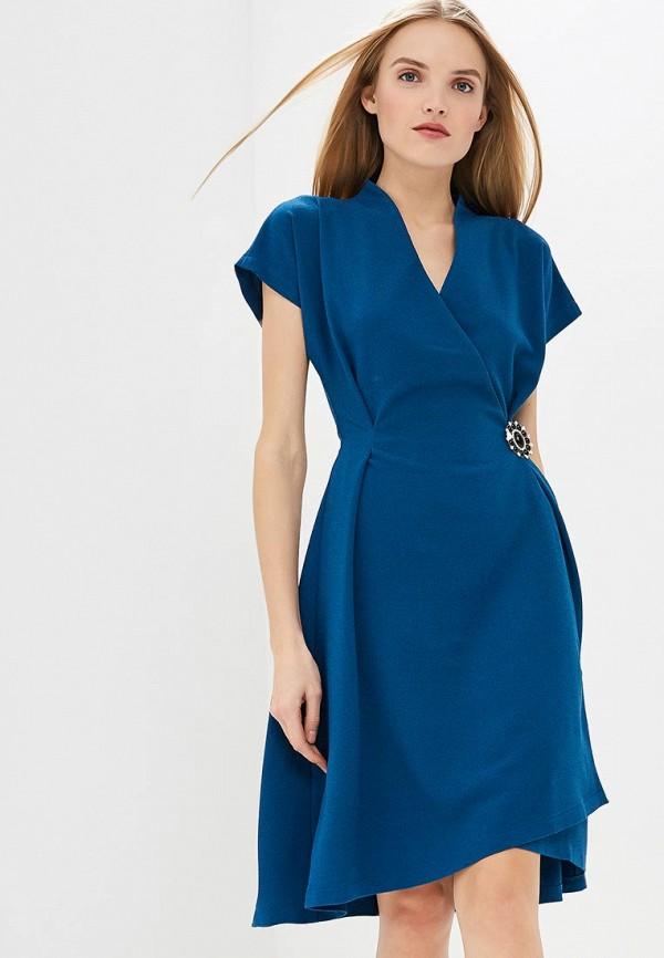 Купить Платье MadaM T, ma422ewdrrv8, синий, Весна-лето 2019