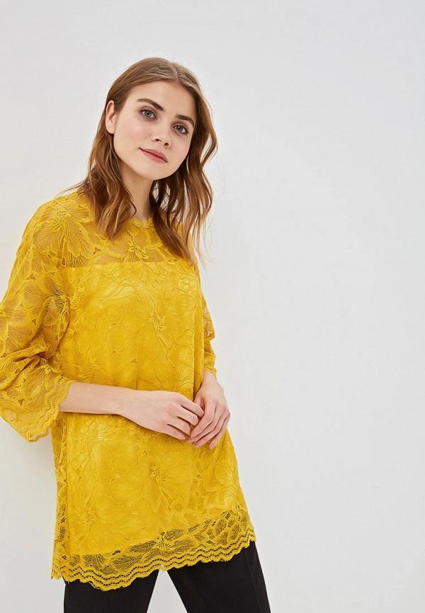 женская блузка мадам т, желтая