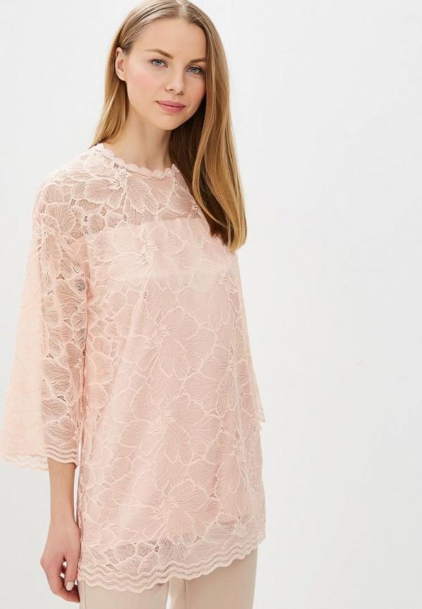 женская блузка мадам т, розовая