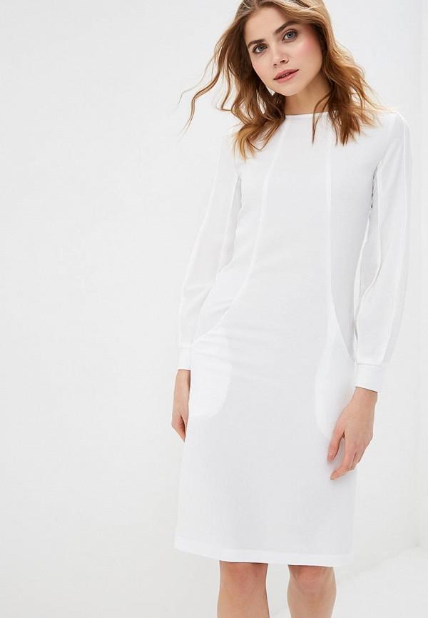 Фото - женское платье MadaM T белого цвета