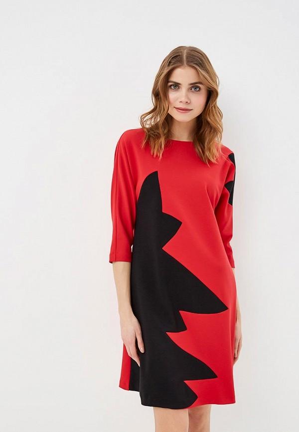 Фото - женское платье MadaM T красного цвета