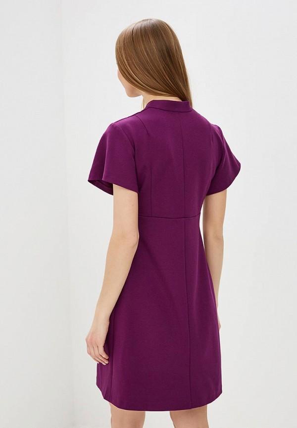 Фото 3 - женское платье MadaM T фиолетового цвета