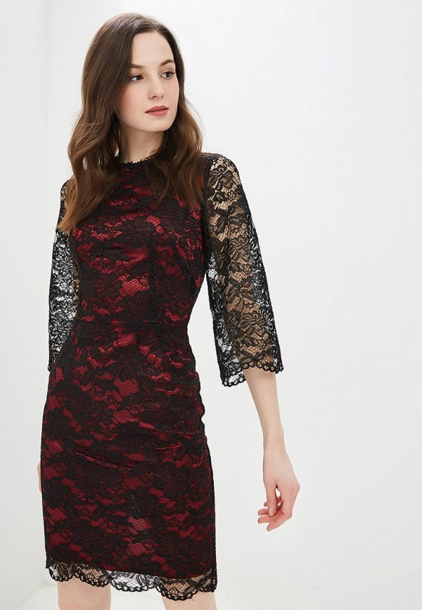 женское вечерние платье мадам т, черное