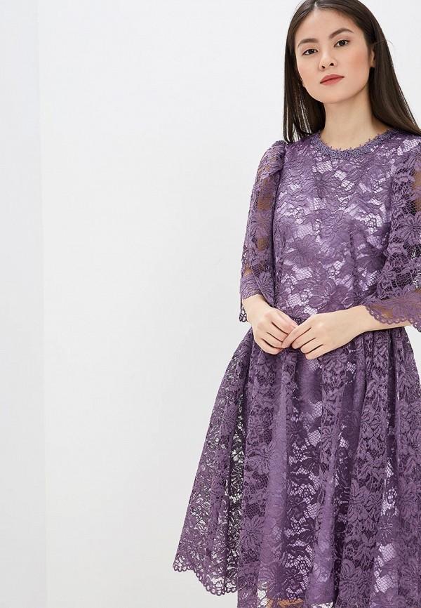 Фото - женское вечернее платье MadaM T фиолетового цвета