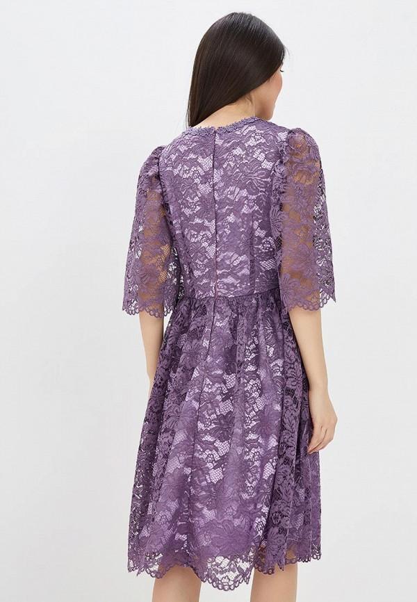 Фото 3 - женское вечернее платье MadaM T фиолетового цвета
