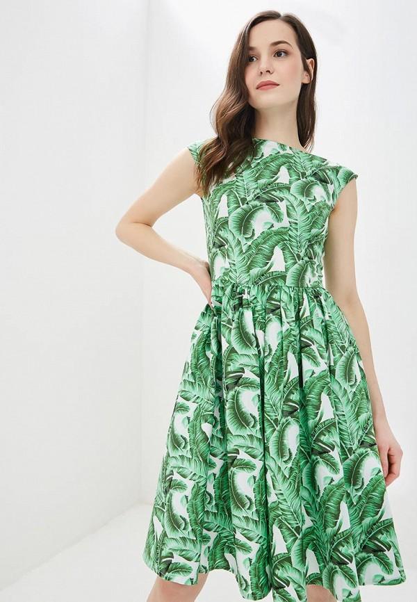 Фото - женское платье MadaM T зеленого цвета