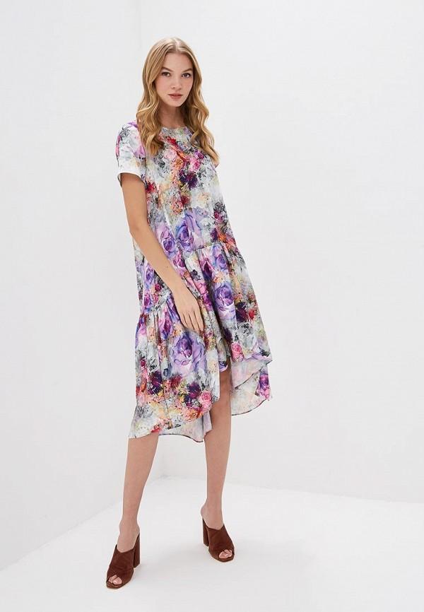 Фото 2 - женское платье MadaM T разноцветного цвета
