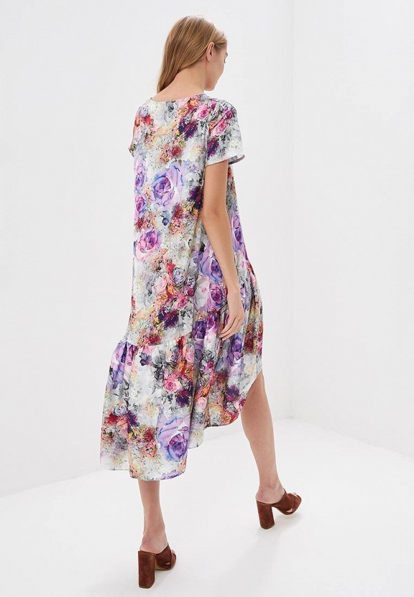 Фото 3 - женское платье MadaM T разноцветного цвета