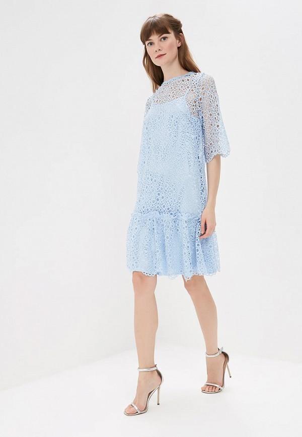 женское вечерние платье мадам т, голубое