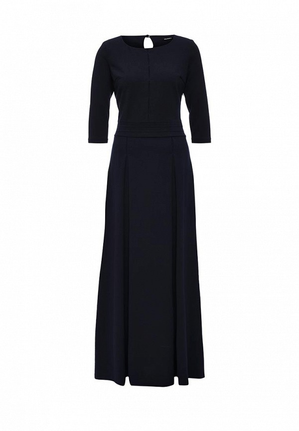 Платье MadaM T, MA422EWLPT46, синий, Осень-зима 2016/2017  - купить со скидкой