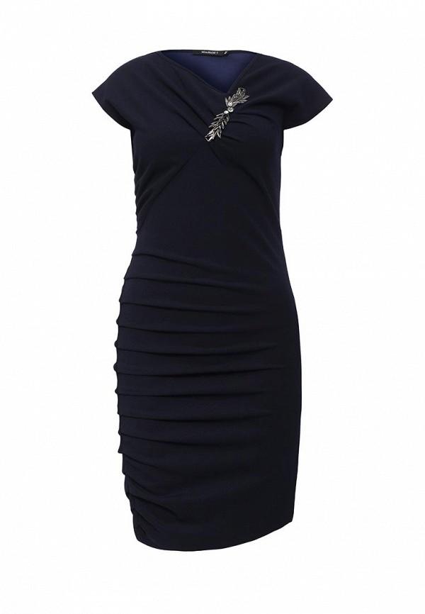 Купить Платье MadaM T, MA422EWOMG47, синий, Осень-зима 2016/2017