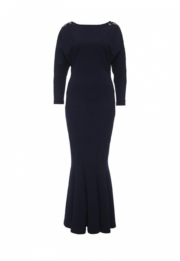 Купить Платье MadaM T, ma422ewomg56, синий, Осень-зима 2016/2017