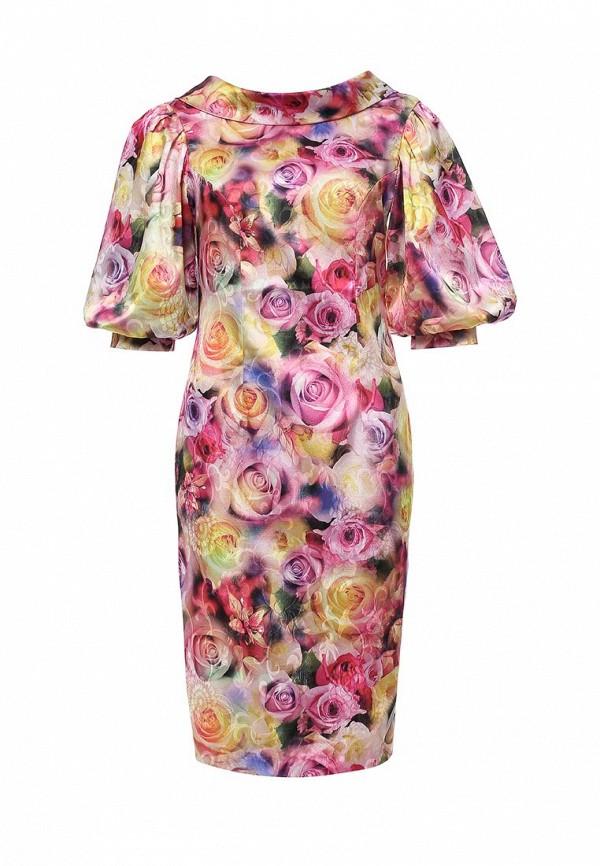 женское платье-футляр мадам т, разноцветное