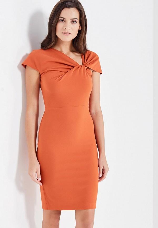 Купить Платье MadaM T, ma422ewxuh93, оранжевый, Осень-зима 2017/2018