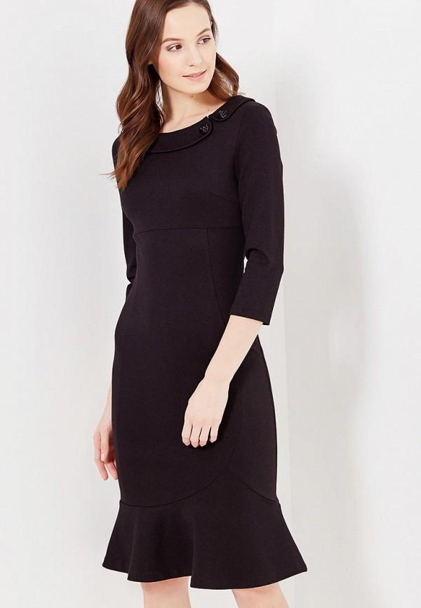женское повседневные платье мадам т, черное