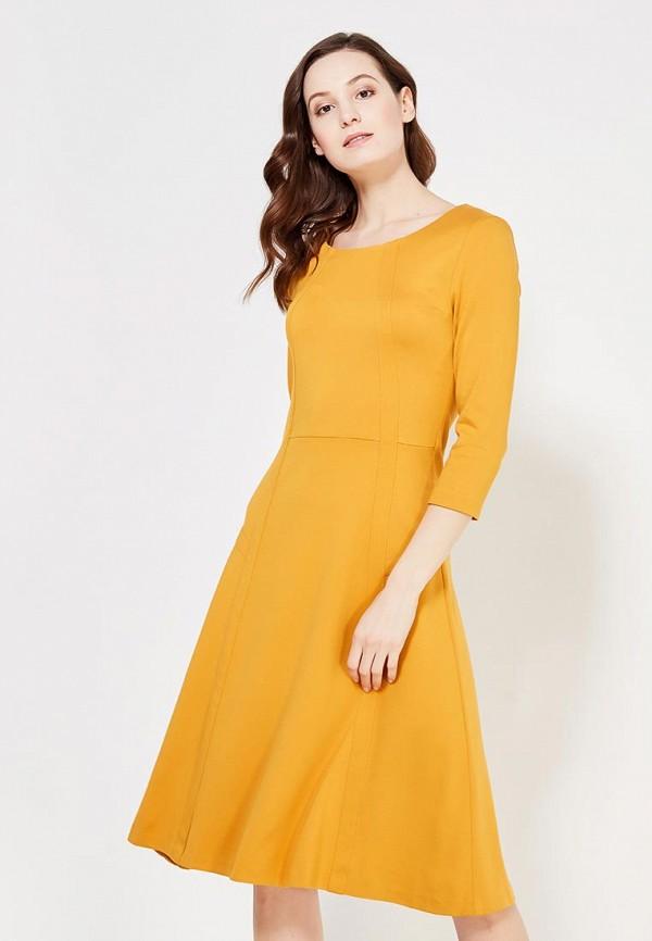 Купить Платье MadaM T, ma422ewzha31, оранжевый, Осень-зима 2017/2018