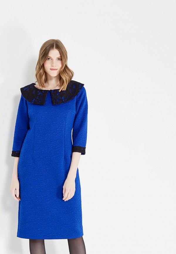 Купить Платье MadaM T, ma422ewzha36, синий, Осень-зима 2017/2018