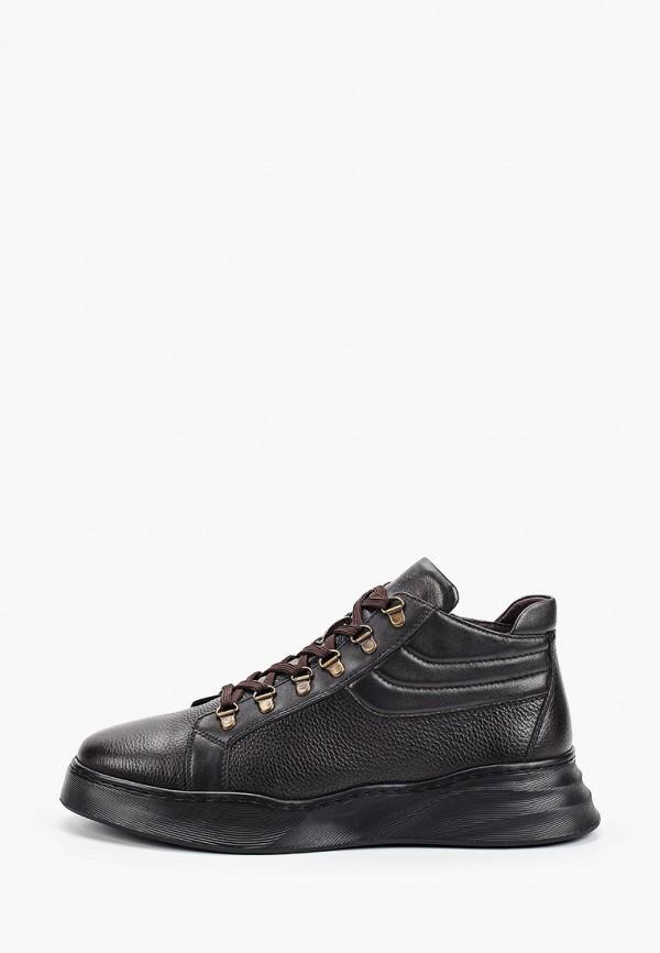 мужские кроссовки mascotte, коричневые