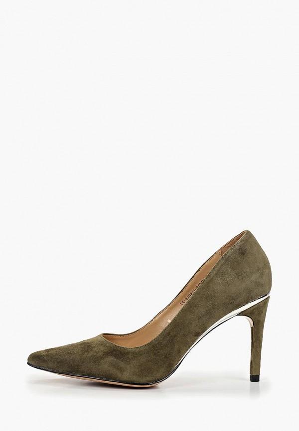 женские туфли mascotte, хаки