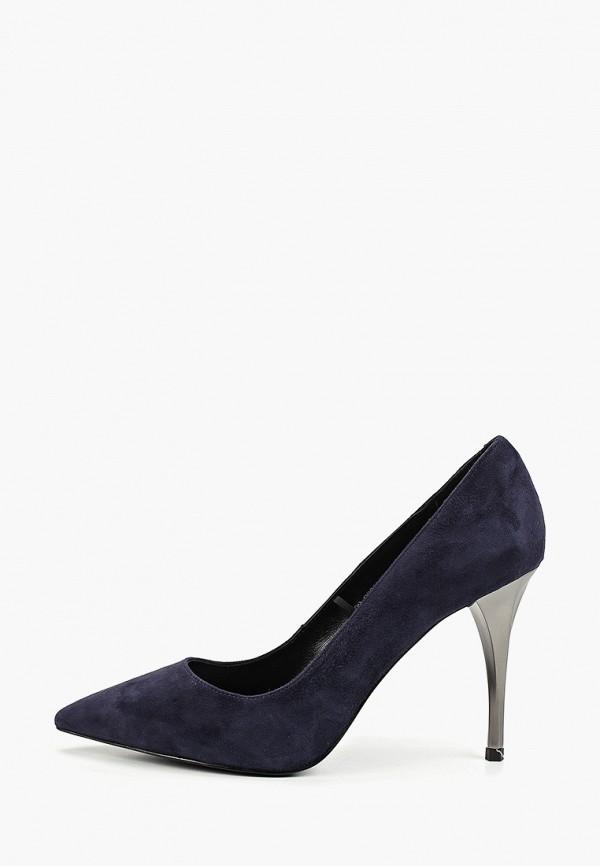 женские туфли mascotte, синие