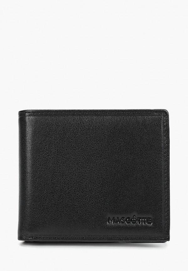 мужской кошелёк mascotte, черный
