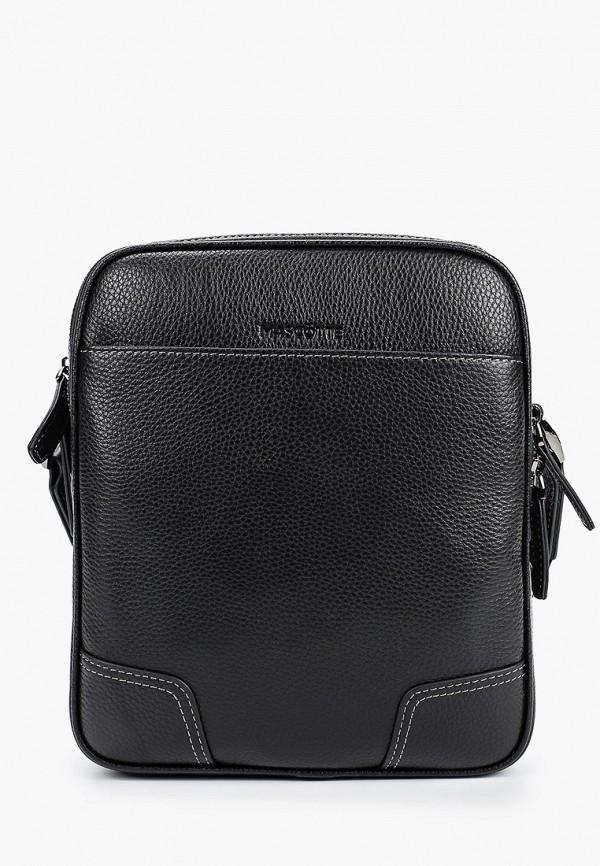 мужская сумка mascotte, черная