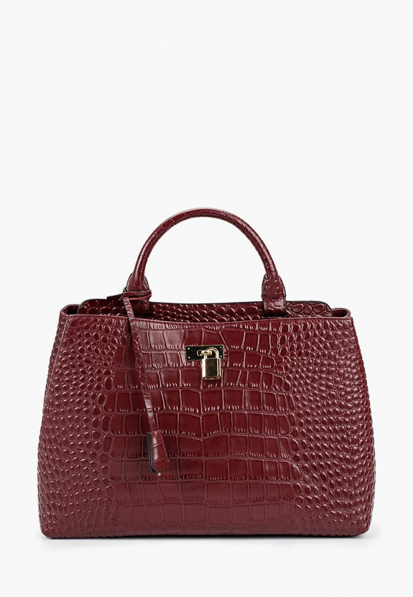 женская сумка mascotte, бордовая