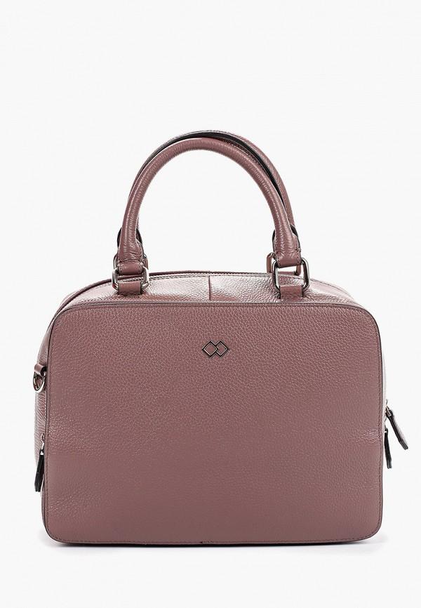 женская сумка mascotte, фиолетовая