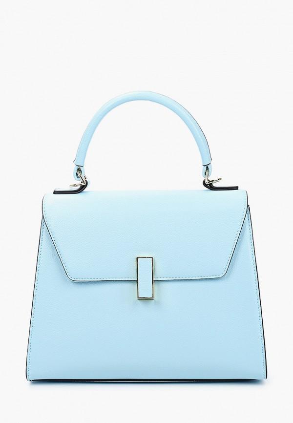 женская сумка через плечо mascotte, голубая