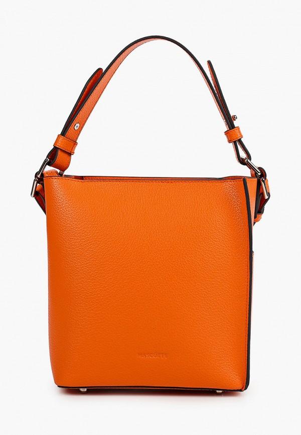 женская сумка mascotte, оранжевая