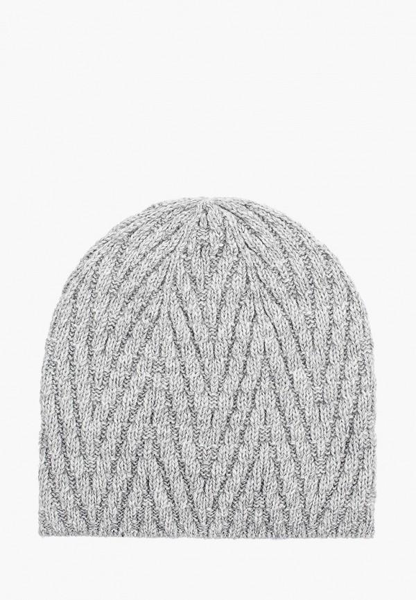 женская шапка mascotte, серая