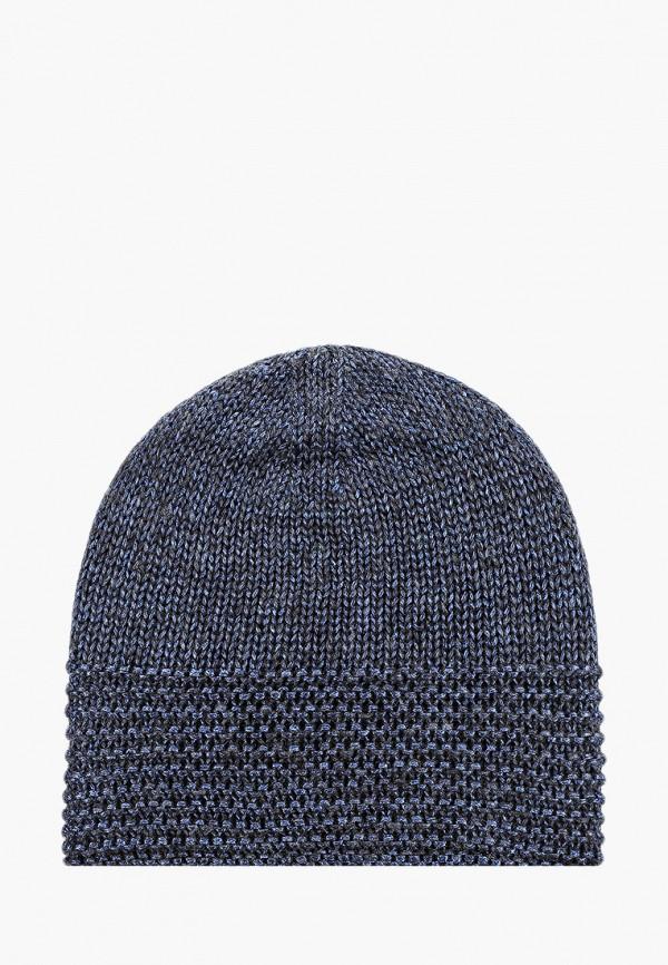 женская шапка mascotte, синяя