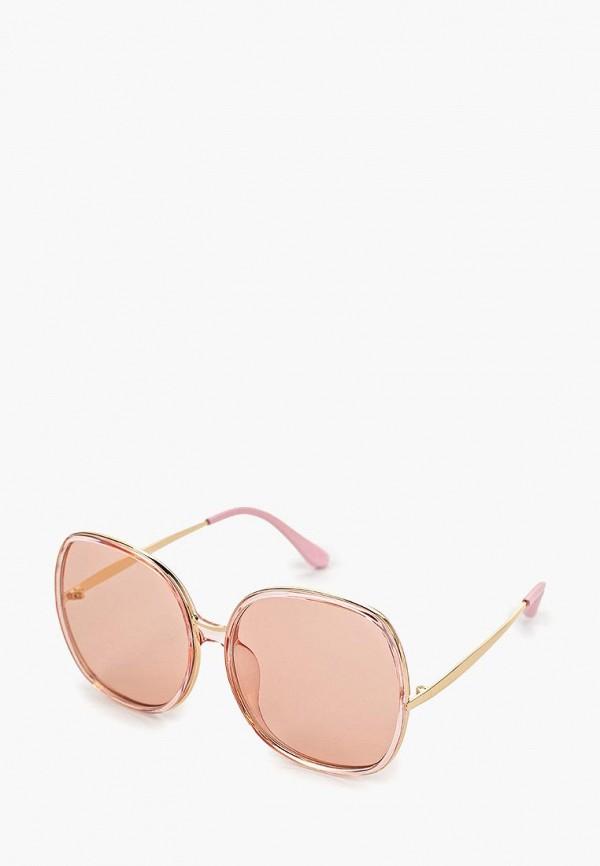 женские солнцезащитные очки mascotte, розовые