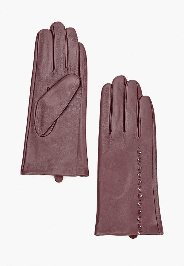 женские перчатки mascotte, бордовые
