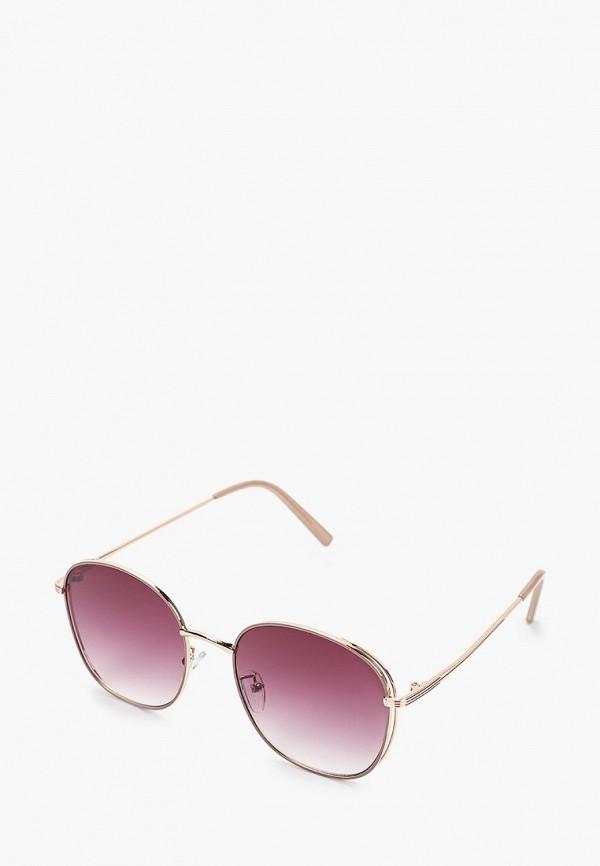 женские круглые солнцезащитные очки mascotte, золотые