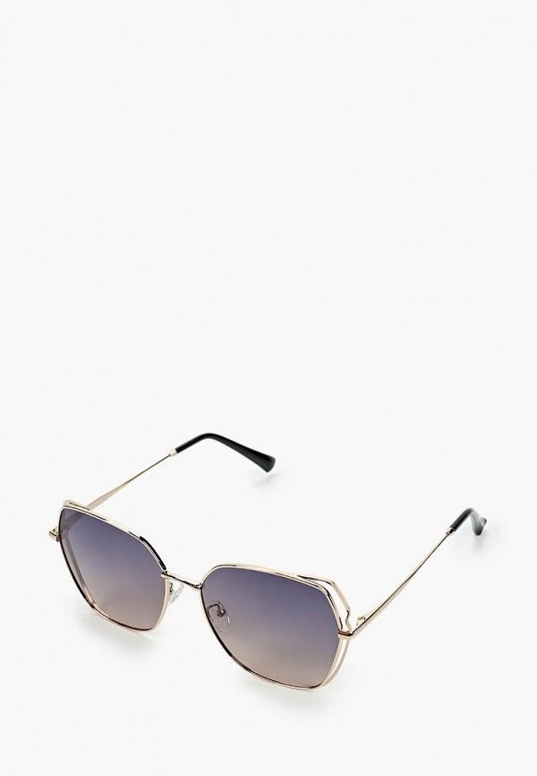 женские квадратные солнцезащитные очки mascotte, золотые