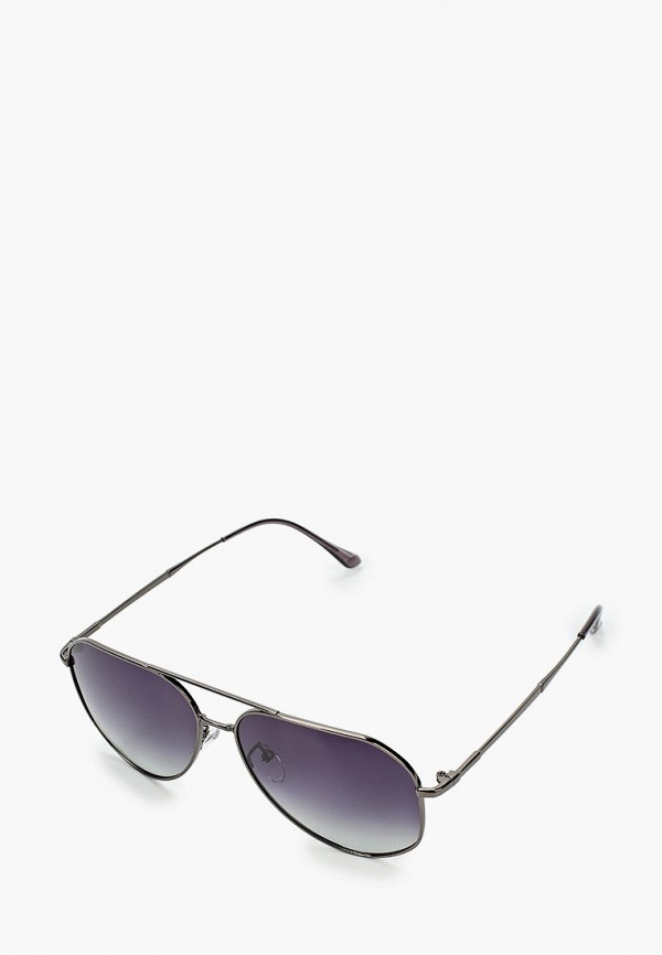 женские авиаторы солнцезащитные очки mascotte, серебряные