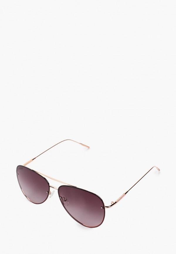женские солнцезащитные очки mascotte, бордовые
