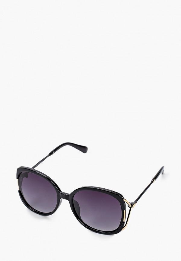 женские квадратные солнцезащитные очки mascotte, черные