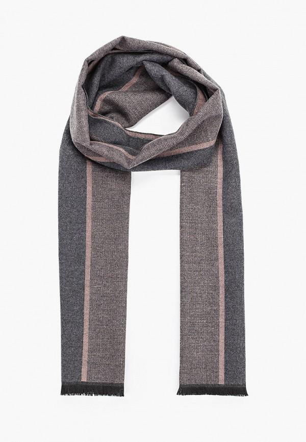 мужской шарф mascotte, серый