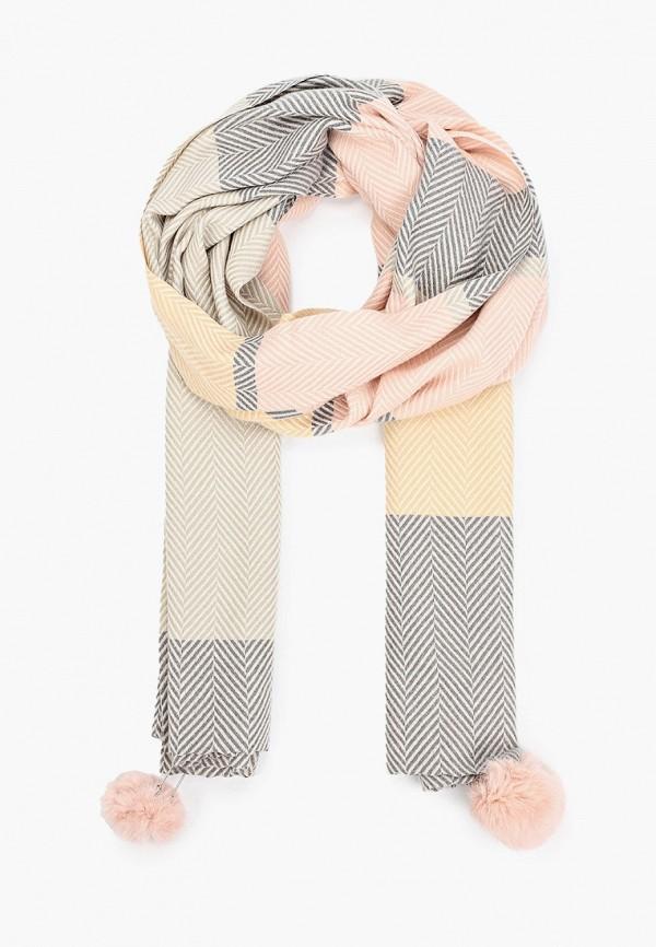женский палантин mascotte, разноцветный
