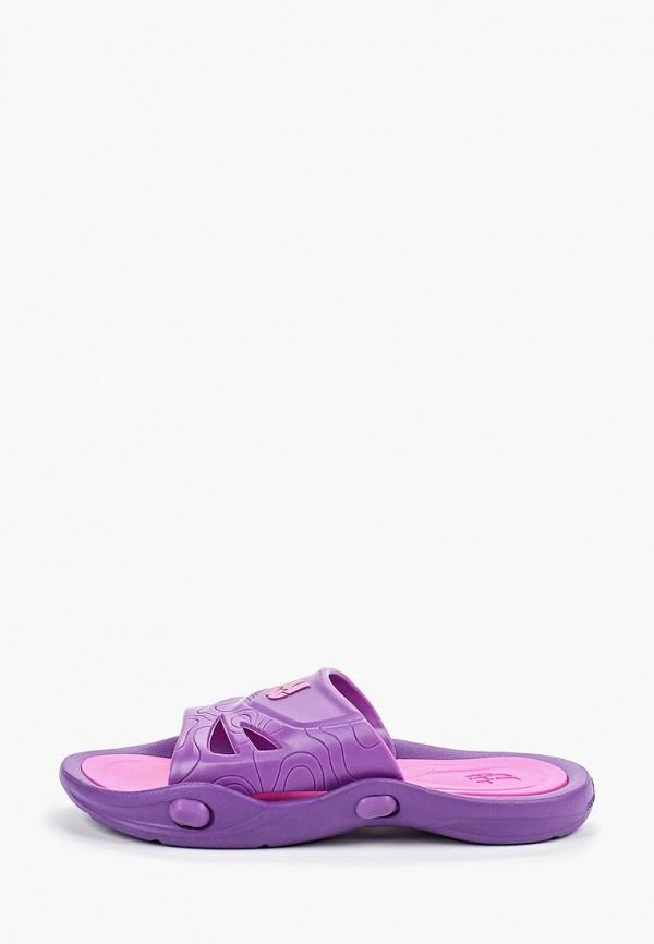 женские сланцы madwave, фиолетовые